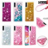 Soft Fashion Quicksand Liquid Glitter Silicone Diamond Bling Phone Case for iPhone xs max xr Samsung A90 M40 A20e Huawei Nova 5i P Smart Z Sony 10 XZ3 Moto G7 G5s E4 Xiaomi A1 Redmi K20 7A LG K40 K12Plus Google Pixel 3a Nokia 1 6 Clear Transparent Colors