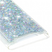 Soft Fashion Quicksand Liquid Glitter Silicone Diamond Bling Phone Case for iPhone xs max xr Samsung A90 M40 A20e Huawei Nova 5i P Smart Z Sony 10 XZ3 Moto G7 G5s E4 Xiaomi A1 Redmi K20 7A LG K40 K12Plus Google Pixel 3a Nokia 1 6 Clear Transparent Colors