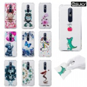 Soft Pattern Clear Slim Fit TPU Back Case For iPhone xs max xr xs Samsung S10 A7 Note 9 Huawei Y5 P20 Mate 20 Pro Nokia 7.1 Moto G5 Xiaomi Mi Mix 2s Redmi 4A 5 5A Air Cushion Shockproof Crystal Bumper 100pcs/Lot Wholesales DHL Fedex UPS Shipping
