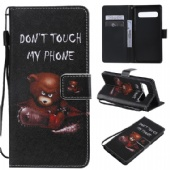 eSuky Flip Case for iPhone xs max xr LG V50 Q8 Nokia N640 Google Pixel XL Moto G5 Xiaomi Pocophone F1 Sony L3 XZ4 Huawei P30 Y6 Y7 Samsung M30 A70 A30 S10 PU Leather Wallet Cover With Animal Pattern Design 2 Cards Pockets Kickstands