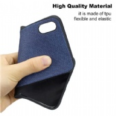For iPhone xs max xr Xiaomi A2 Lite Redmi 6 6A Samsung M30 A70 A30 S10 J6 Case TPU Cloth Texture Back Ultra Thin Shell Cover for Huawei P Smart P30 Y7 Y6 Y5 Huawei Honor 7A 7C 8C Case