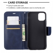 Leather flip cover for iPhone xs max Xiaomi Poco F1 Redmi K20 7A Nokia 2.2 Moto G6 LG K50 K10 Sony XA1 XZ Samsung  M30 A70 Note 10 Huawei Nova5i P20Lite PU leather case cover pure Sheep pattern color Black Blue Red Gray Yellow Brown bracket phone case